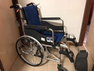 Lifeline Lightweight Aluminium Wheelchair (reserved)