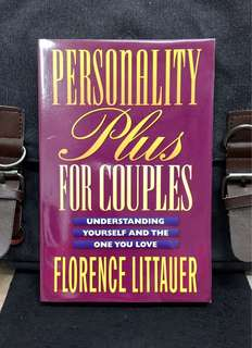 《New Book Condition + Who Is Your Spouse? Do You Really Know This Person? 》Florence Littauer - PERSONALITY PLUS FOR COUPLES : Understanding Yourself and the One You Love