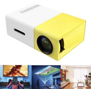 YG300 Portable LED Theater Projector