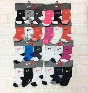 Nike Socks for babies (1set 3pairs)