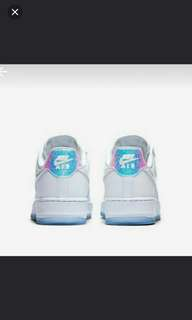 Nike Air force One holographic white