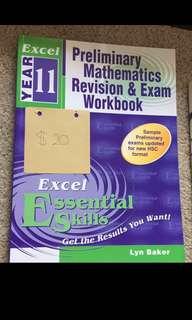 Preliminary 2U Maths Revision and Exam Workbook