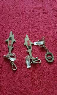 Shark Bay Gold Coast Australia Keychain Set