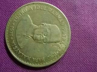 Old coin Rm5 1971