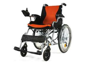 近全新電動手動輪椅