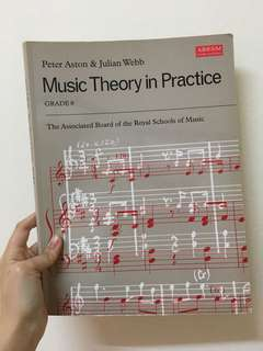 🆕 Music Theory in Practice Grade 8 Book #Ramadan50