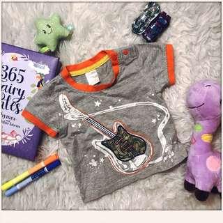 Anakku Baby Guitar T-shirt size 0-6m