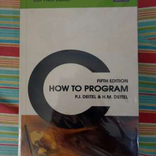 C HOW TO PROGRAM (fourth & Fifth Edition)
