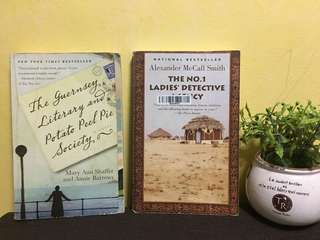 Guernsey Literary + No. 1 Ladies' Detective Agency