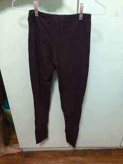 Cotton On Maroon tights