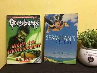 Goosebumps + Sebastian's Quest