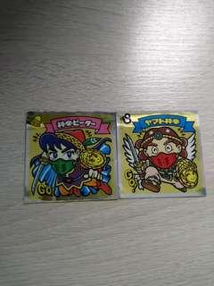 懷舊絕版 神帝 GO 日本零食附送貼紙