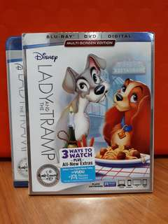 USA Blu Ray - Lady and the Tramp (Disney Signature Edition)