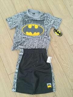 Batman Shirt and Shorts Set