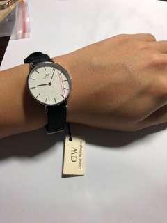🚚 ❌可驗貨❌最低價 dw手錶 尼龍 非皮帶 dw 丹尼爾惠靈頓 石英錶 女兵 classic