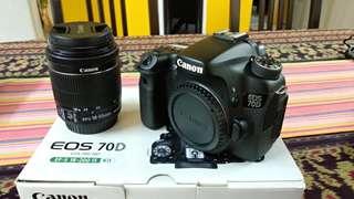 Canon 70d set