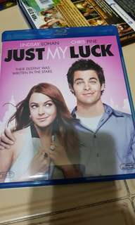 Pre-loved Just My Luck Blu Ray Bluray