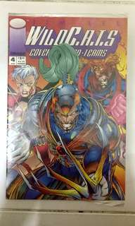 IMAGE COMICS WILDCATS #4 SEALED