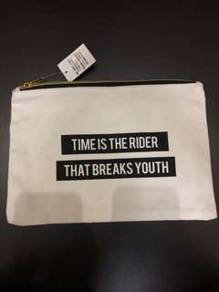 YOUTH'S TIME POUCH / PENCIL CASE