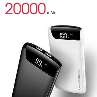 700好評激安價!100%全新現貨!JOYROOM D-M153 Wiseway Series 20000mAh Power Bank Real capacity 尿袋
