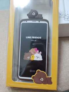 Galaxy S9 LINE FRIENDS 立體矽膠背蓋