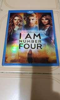 Pre-loved USA Original I Am Number Four Blu Ray Bluray