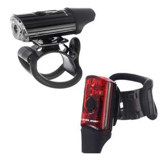 Mini direct USB front and rear light set (FREE postage!)