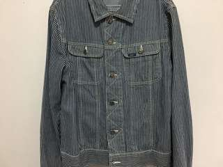 Lee hickory jacket type 3 / tipe III not selvedge denim