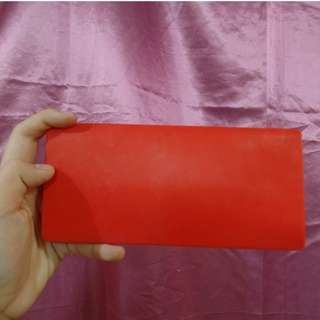 Silicone rubber wallet
