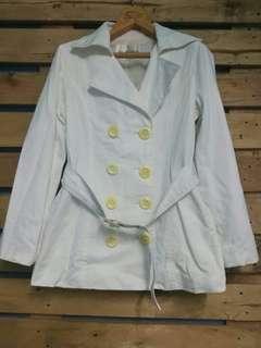 #Preloved white coat