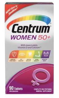 🇨🇦🇨🇦善存-Centrum Women 50+ Multivitamin