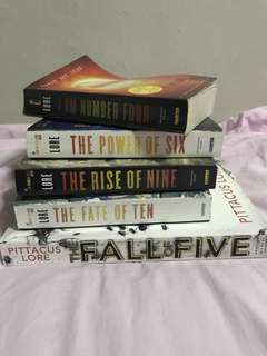 I am Number Four Book Series!