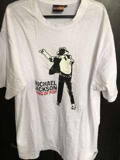Plus size tshirt Michael Jackson