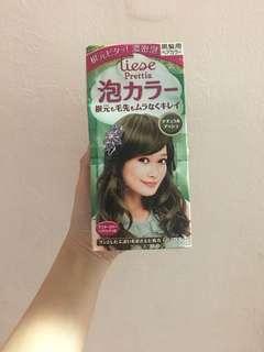 Liese Hair Dye (ash green)