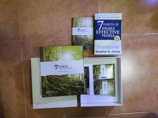 the 7 seven habits of highly effective people book and training kits