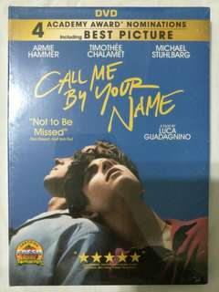 [Movie Empire] Call Me By Your Name - Movie DVD