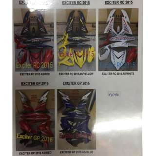 Selling Racing Cover Set For Motor , Text me in Whatsapp 0166085515 for more details