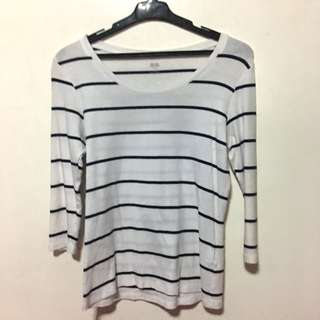 Uniqlo Stripes Longsleeves
