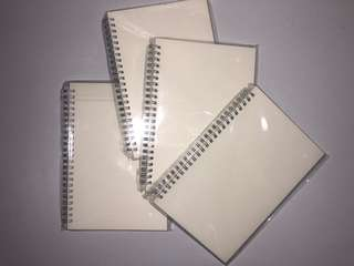 Lined Notebooks (Muji inspired)