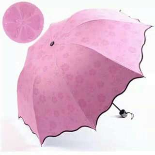 Original Magic umbrella With UV protector  Wind protector Highquality Pink red orange violet green blue
