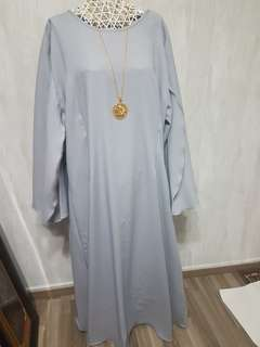 Brand New Long Cape Dress