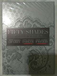 [Movie Empire] Fifty Shades Collection - Movie DVD Box Set