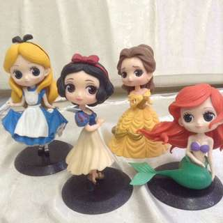 Disney Princess Figurine Set