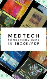 MEDTECH BOOKS/MEDTECH REVIEWERS MEDICAL TECHNOLOGY BOARD REVIEWERS
