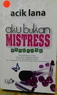 Novel melayu Aku Bukan Mistress