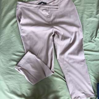 Forme Pink Pants (worn twice to work) Fits Large to XL