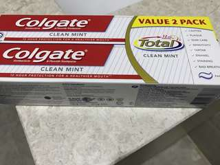 Colgate total twin pack