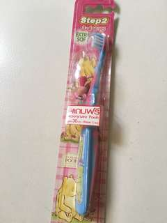 Kids 3-6 yes old Pooh lToothbrush