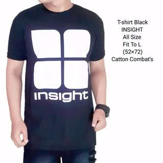 Tshirt man black