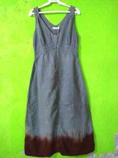Gray Duster Dress
